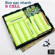 SIÊU RẺ] Box Sạc Dự Phòng Sạc Nhanh QC 3.0 Mica 9 Cell, Giá siêu rẻ  240,000đ! Mua liền tay! - SaleZone Store