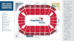 Verizon Center Capitals Seating Chart Interactive Capitals Seating Chart Seating Chart