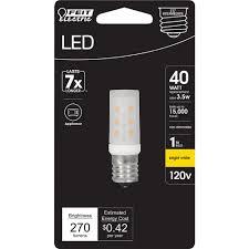 Feit Electric 3 5 Watt T8 E17 Base Led Microwave Light Bulb Bright White 3000k