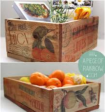 make vintage orchard farm inspired pallet wood crate for almost free tutorial on transfer images