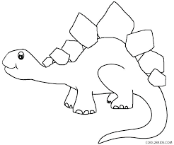 Dinosaur Color Pages Dinosaur Color Page Dinosaur Coloring Pages For