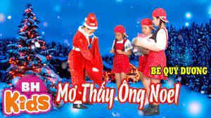 Mơ Thấy Ông Noel ♫ Bé Quý Dương ♫ Nhạc Thiếu Nhi Giáng Sinh Vui Nhộn -  Tuyển tập nhạc thiếu nhi hay. - #1 Xem lời bài hát