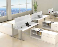 standing office table. Classic Electric Height Adjustable Table With Beveled Edge Top ! Standing Office