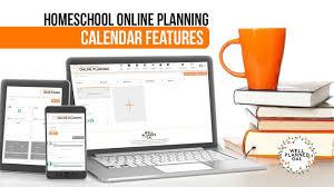 Online Planning Calendar Homeschool Online Planning Calendar Features Youtube