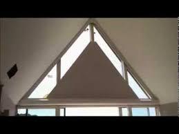 Roller Blind Triangle Window  Google Search  Blinds  Pinterest Blinds Triangular Windows
