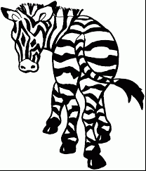 Small Picture incredible zebra coloring pages with zebra coloring page