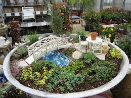 Small Picture Fairy Garden Container Ideas Gardening Ideas