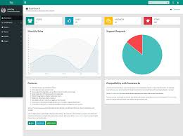Chart Icon Bootstrap Best Free And Premium Bootstrap 4 Admin Dashboard Templates