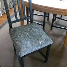 surprising ideas dining room chair pads with ties charming cushions for chairs of and in design