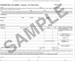 bill of lading software free triplicate straight bill of lading 10 min 500