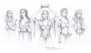 asoiaf queens of prophecy by achen089