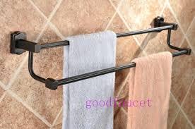 standing towel rack oil rubbed bronze. Oil Rubbed Bronze Towel Racks Rail Holder Double With Regard To Standing Rack