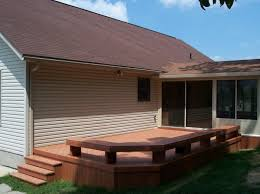 This maintaince free composite deck will be enjoyed for years to come.