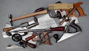 vintage hand tools. caption describes image. representative tool box vintage hand tools