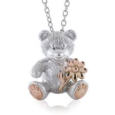 images 2018 rose gold benny bear pendant