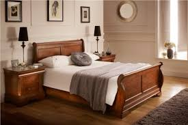 wooden sleigh bed. Delighful Sleigh 1  For Wooden Sleigh Bed Z