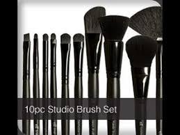 makeup brush breakdown e l f cosmetics studio brush collection you