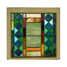 stained glass antique stain glass windows stained and leaded window vintage value