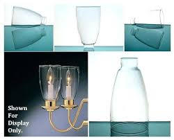 replacement chandelier glass lamp shades sconce pendants sconces for candles hurricane shade simple flare 1 home improvement mar