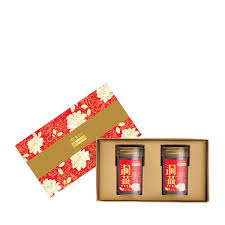 2021 brings us the year of the ox and with that we should celebrate! Festive Floral Superior Cave Nest American Ginseng Reduced Sugar Gift Box Eu Yan Sang Singapore