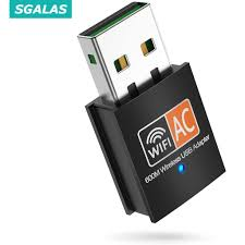 Wireless Lan USB WiFi Adapter 600Mbps Dual Band 5GHz WiFi Dongle 802.11AC  for PC Laptop