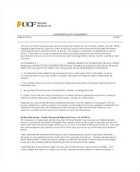 Student Confidentiality Agreement Template – Gocollab
