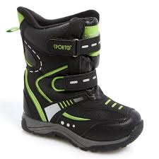 Sporto Toddler Boy Double Strap Cold Weather Boots 548125950