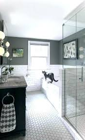 white and gray bathroom ideas. Dark Grey And White Bathroom Ideas Gray Tile Black .