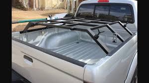 Truck bed rack for roof top tent   Truck accessories   Pinterest ...