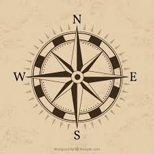 compass design compass design with brown background vector free download