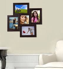 brown synthetic wood wall mounted