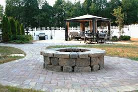 outdoor fire pit pavers beautiful paver patio fire pit projects kingdom landscapes