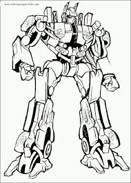 Small Picture Transformers Optimus Prime Coloring Pages Coloring Coloring Pages