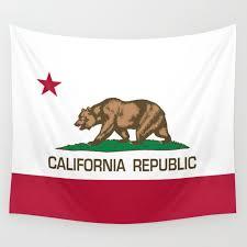 california republic flag wall tapestry