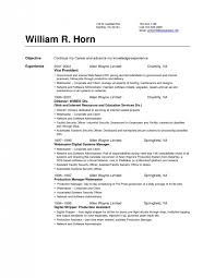 Resume Set Up