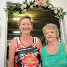 Karen Gobbe, and Janelle Wade, at Mary Vidler's 80th Birthday ... | Buy  Photos Online | Northern Star