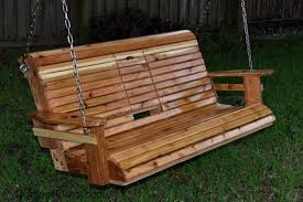 outside swing bench. Contemporary Outside DIY Porch Swing Bench With Cup Holder Throughout Outside