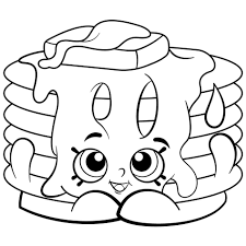 Shopkins Donut Coloring Page Printable 9 Pages Tesouroliterariocom