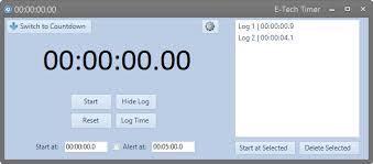 Download Timer E Tech Timer Codeplex Archive