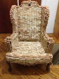custom repurposed corks and furniture this exact chair not for but i ll make you one