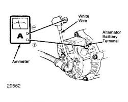 1985 honda accord battery lamp on electrical problem 1985 honda How To Test Alternator Wiring Harness check alternator wire harness connections check drive belt tension battery must be fully charged prior to beginning test alternator output test how to test alternator wiring harness