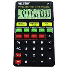 Amazon.com : Vctv14 - Victor V14 Personal Financial Calculator For ...