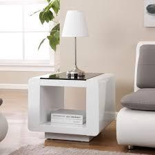 Living Room Furniture White Gloss Table Design Bordeaux Sidetable White For Living Room Furniture