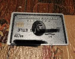 american express platinum card non metal edition 1 of 2