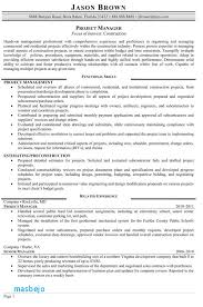Construction Project Manager Resume Examples Amazing Construction Project Manager Resume Examples Heavy Equipment