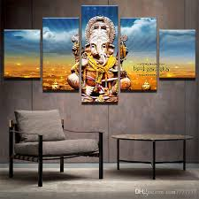 2018 lord ganesha canvas painting home decor wall art group paintings for bedroom shop office art poster unframed from tian7777777 17 09 dhgate com on home decor wall art painting with 2018 lord ganesha canvas painting home decor wall art group
