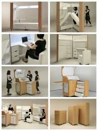 furniture that saves space. fantastic space saving furniture by japanese firm atelier opa that saves