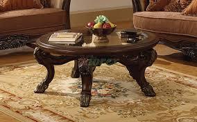 corvi dark brown round coffee table mississauga xiorex