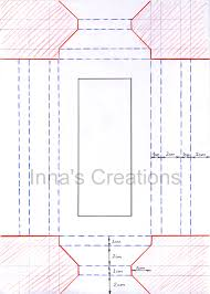 Paper Picture Frame Templates Innas Creations How To Make A Simple Paper Frame