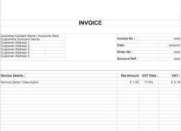 Free Word Invoice Templates 40 Invoice Templates Blank Commercial Pdf Word Excel